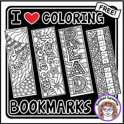 Reading Bookmarks Your Students Can Color!