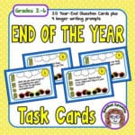 End of the Year Reflection Task Cards!