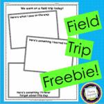 Field Trip Wrap-Up