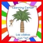 FREE Spanish Syllable Learning Center – QR Coded – Ma, Me, Mi
