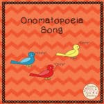 Using Song To Teach Onomatopoeia