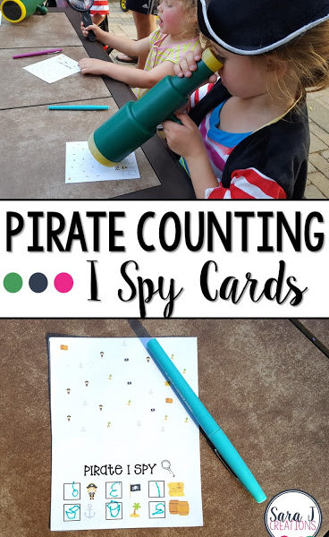 Pirate Counting I Spy Fun