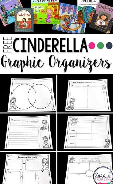 Graphic Organizers for Cinderella