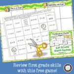 First Grade Math Review Games