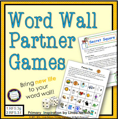 Two Games for Word Wall Practice