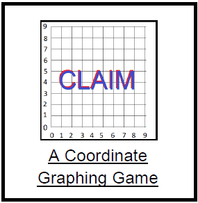 Play to Learn Coordinate Graphing: Claim