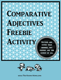 Comparative Adjectives Activity
