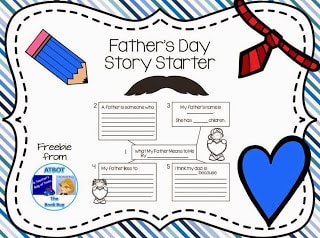 Free Father's Day Story Starter