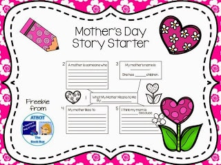 Mother's Day Story Starter Freebie