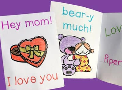 MOTHER'S DAY CARDS TO TRACE