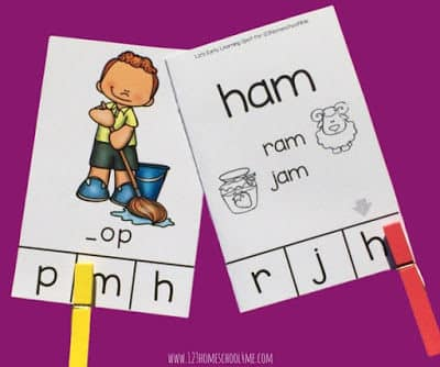 CVC CLIP CARDS FOR BEGINNING SOUNDS