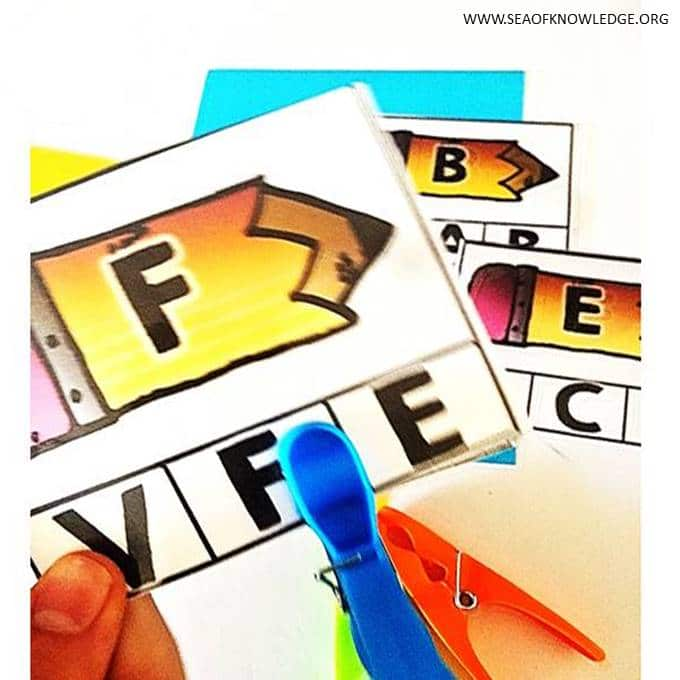 Alphabet Poster Printables #phonics #reading