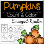 Free Count & Color Pumpkins Make and Take Book