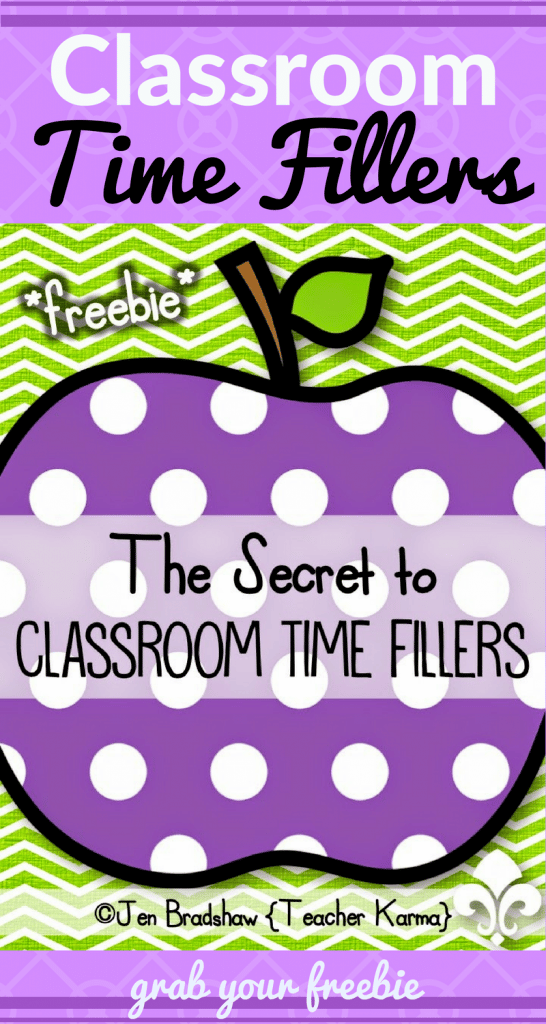 Classroom Time Fillers: Nix the CRAZIES!