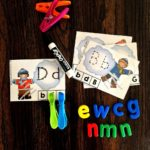 Sea of Knowledge's Free Letter Tracing Activities Winter Theme