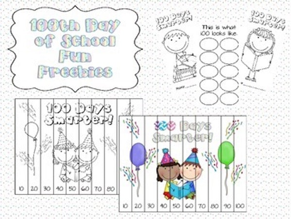 When is/was your 100th day of school this year? How did you celebrate? #100thday #kindergarten