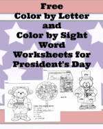 FREE President's Day Worksheets