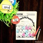 Sea of knowledge's (Totschooling) Easter Sight Word Worksheets Free