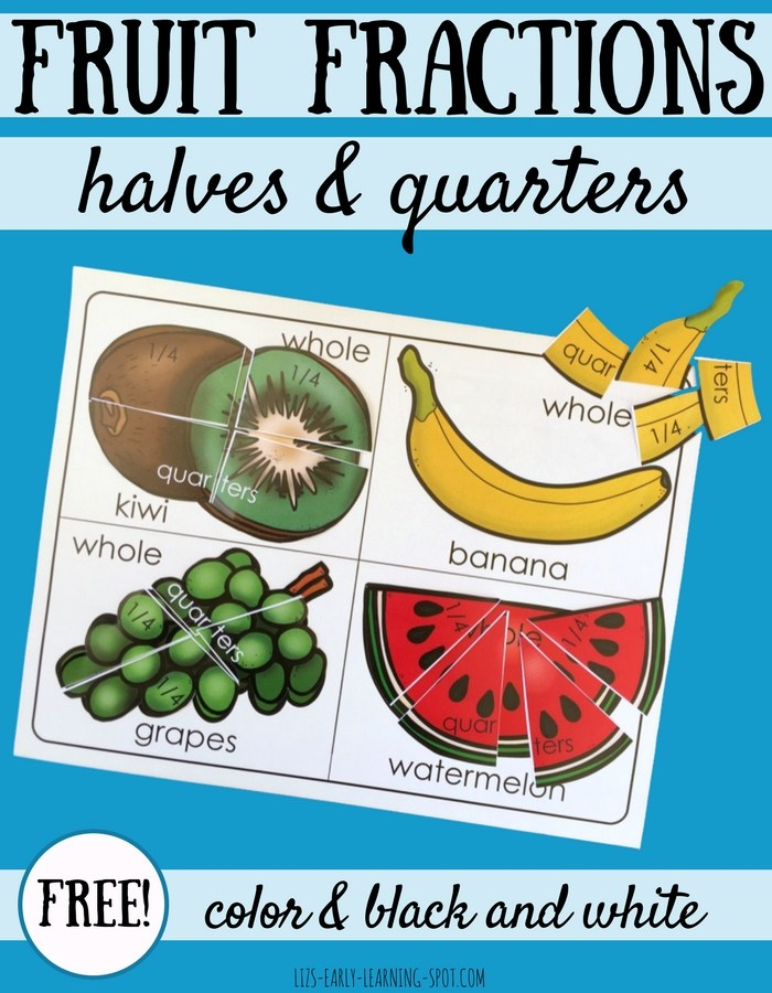 Fruit Fractions Freebie