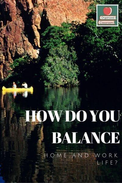Teacher Balancing Acts