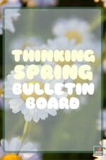 Free Spring Bulletin Board Letters!