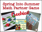 Easy Prep First Grade Math Games