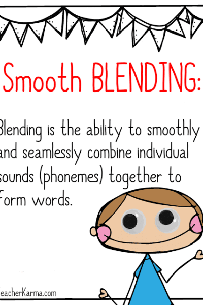 Fluency & Phonics FREEBIE: Blending Trains