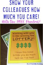 FREE Coworker (or Parent Volunteer) Gift