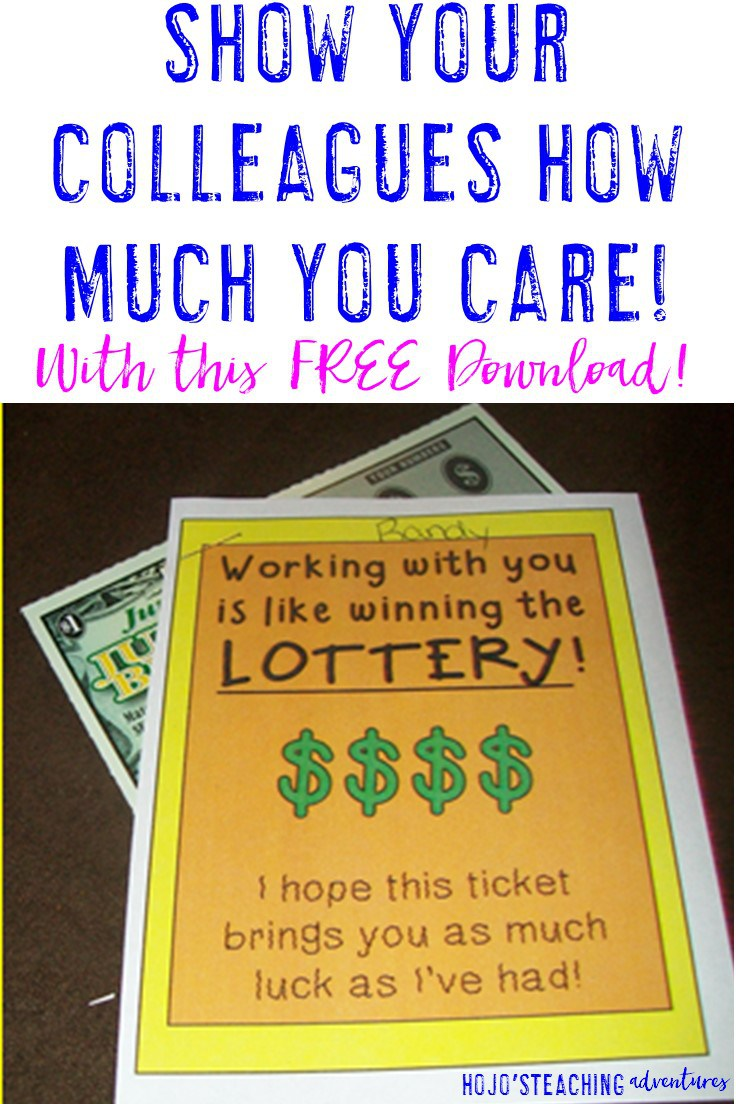 FREE PRINTABLE TO SHOW YOUR COWORKERS HOW MUCH YOU CARE!