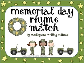 Rhyming with Memorial Day Words