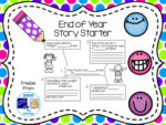 Free End of Year Story Starter