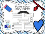 Father's Day Story Starter Freebie
