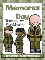 Fern Smith's Free Time to the Five Minute Math Center for Memorial Day