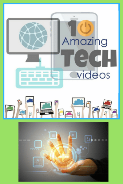 10 Amazing Tech Videos & Activity
