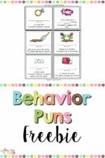 Having Fun with Behavior Puns!