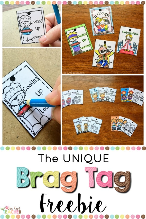 There are no brag tags out there like this set. Check out this freebie to see what makes this brag tag not only perfect for classroom management but wonderful for academic success too!