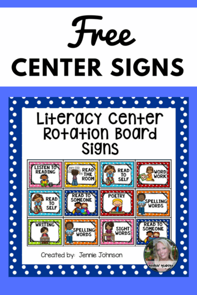 Free Center Signs