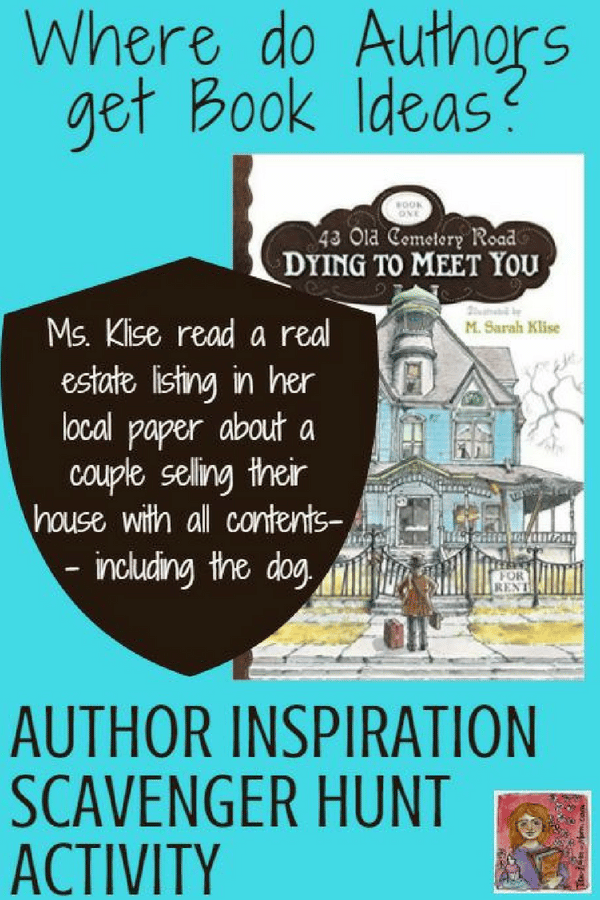 author scavenger hunt