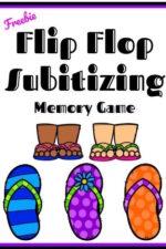 Flip Flop Subitizing
