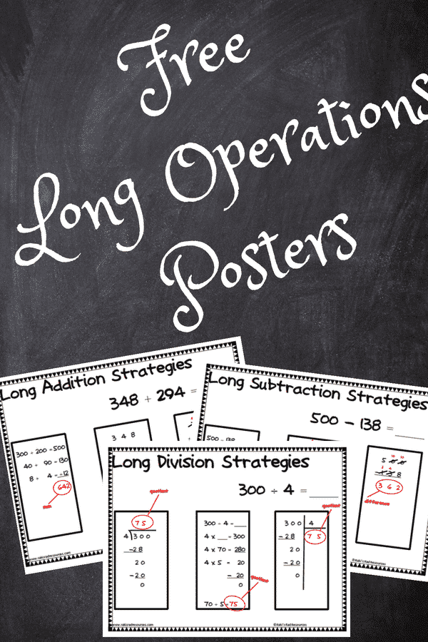 Free Long Operation Posters