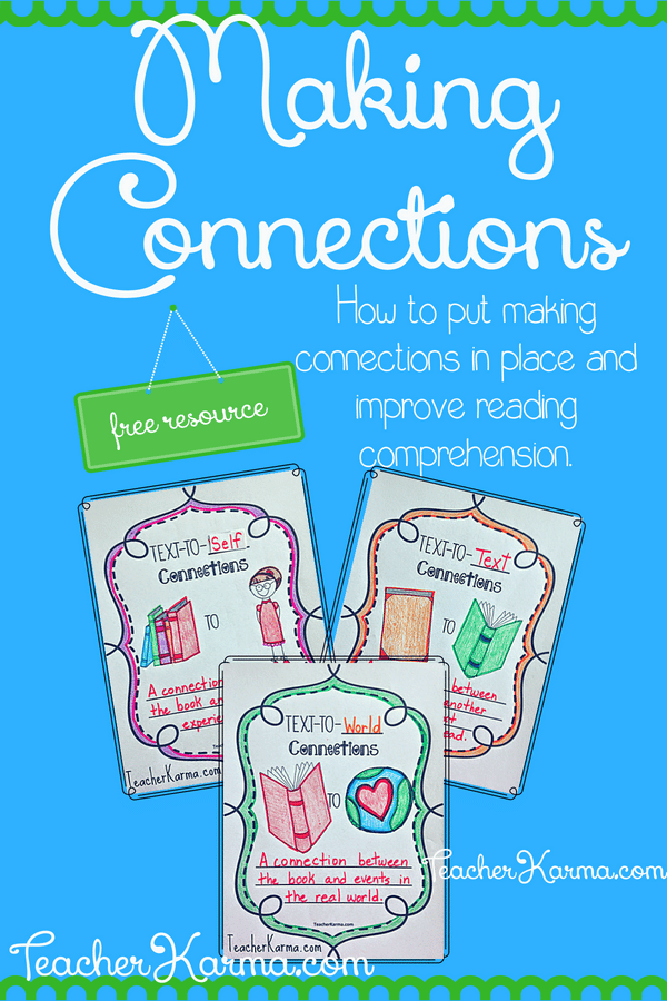 making connections to text