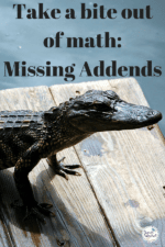 Take a Bite out of Missing Addends