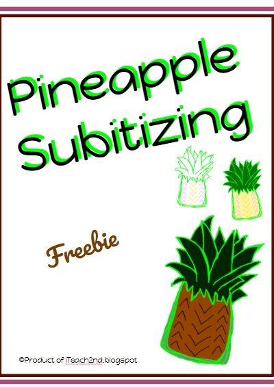 Subitizing – Pineapple Style