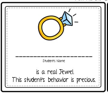 Have some fun with behavior puns! Reward your students with these classroom management tickets. Students will love this freebie.