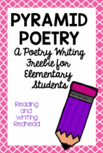 Pyramid Poems Freebie!