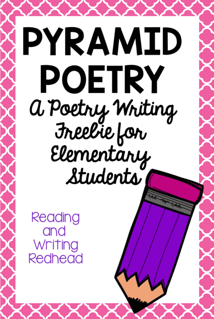 Poetry lesson plans don't have to only be collected and taught in April, during National Poetry Month.  Having resources to teach elementary, middle, and high school students about poetry all year long is the best way to practice those skills. #poetry #lessonplans