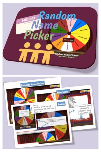 Random Name Picker Classroom Tool