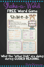 "Phonics Shake-a-Word: What the ""Other Kids"" are Doing"