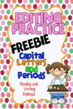 Editing Freebie