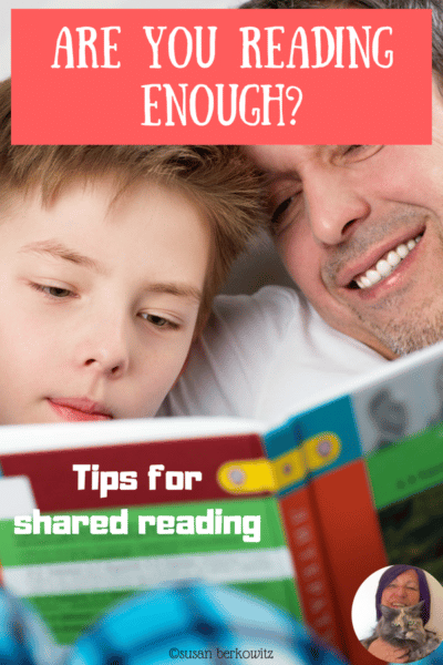Are You Reading Enough? Tips for Shared Reading
